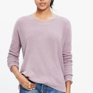 Madewell | Knit Sweater | Lavender